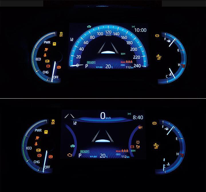 双环式仪表板或数位仪表板皆整合全彩tftmid多功能信息显示屏,仅在于4图片