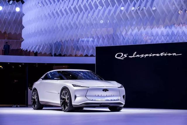 英菲尼迪概念车于上海车展全球首发