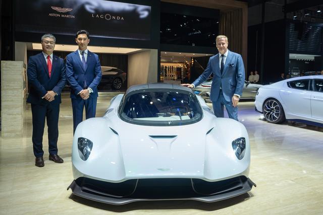 阿斯顿·马丁携三款重磅车型亮相2019上海车展