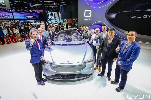 新高端电动汽车品牌GYON车展首秀
