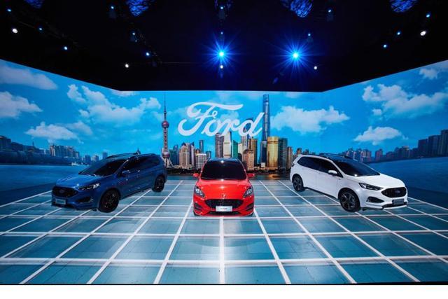 更科技更福特更中国福特品牌上海车展大放异彩