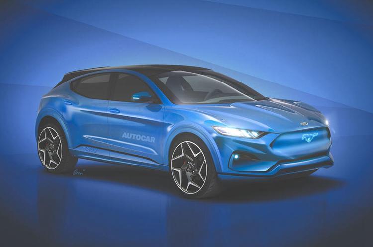 延续 Mustang 风格,福特全新纯电 SUV 将于 2020 年上市